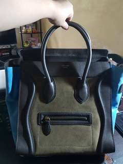 Celine Mini TRI COLOR Luggage