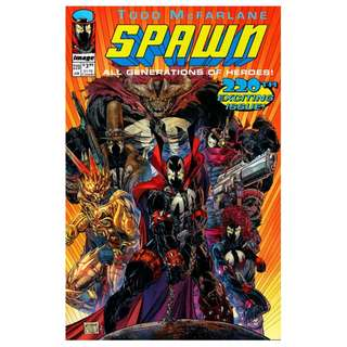 Spawn #220 Youngblood homage variant