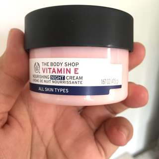 NEW The Body Shop Vit E Night Cream