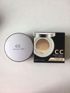 breathable cc cream foundation moisturiser