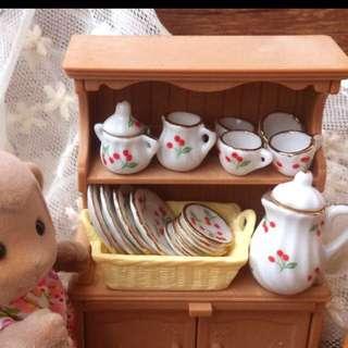 Sylvanian Tea Set