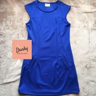Electric blue dress ( import )!