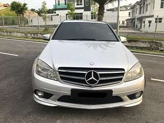 Mercedes Benz C180 AMG Sport Sambung Bayar /Car Continue Loan
