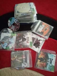 Xbox 360 Video Games ,56 Cds. best offer