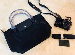 Authentic Black Longchamp Neo (Small) REPRICED!