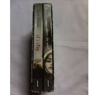 If I Stay/Where She Went by Gayle Forman Boxed Set