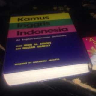 Kamus English - Indonesia
