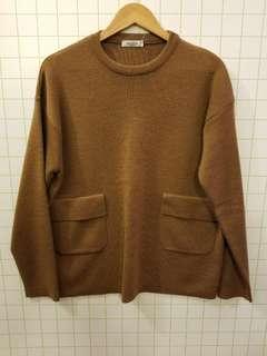 Valentino M men wool sweater