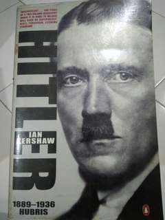 Hitler biography by Ian Kershaw