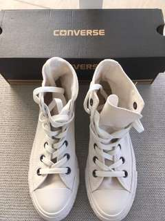 Used Once Converse Shoes