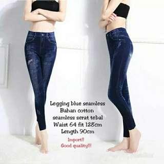 Legging blue seamless