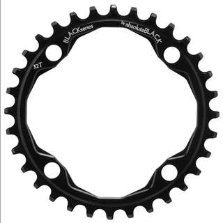 🆕! 32T Absoluteblack 104bcd Narrow Wide Single Chainring  #OK Black 104 Bcd Chain Ring