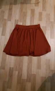 Skater skirt brown