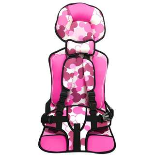 Kids Car Seat Pink [2years-12years]