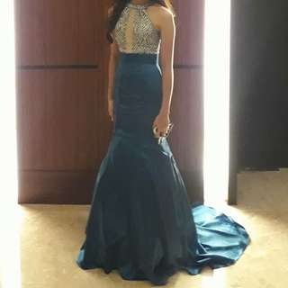 Blue Gown (For Sale Only)