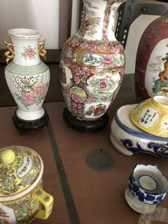Tea sets n vases