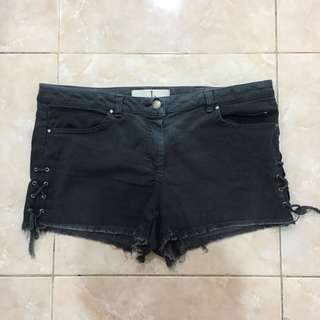 Zara Black Shorts