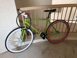 Fixie Bicycle (City Life)