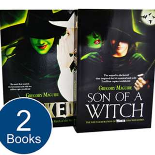 Wicked 2 Book Collection