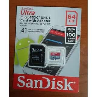 SanDisk Ultra microSDXC UHS-1 Card