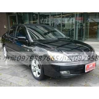 專辦全額貸 零元可交車 2004 三菱汽車 VIRAGE 1.8 黑色 自排