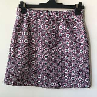 Stradivarius Printed Skirt