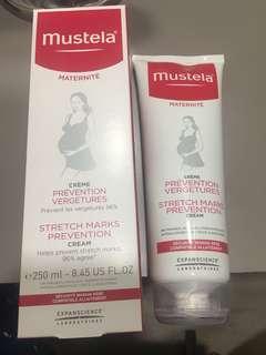 Stretch marks prevention cream