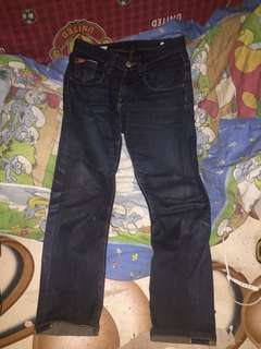 Leecooper denim selvadge
