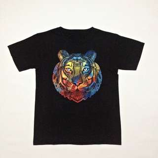 Tiger Black Tees