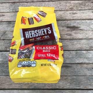 Hershey's Miniature Chocolates