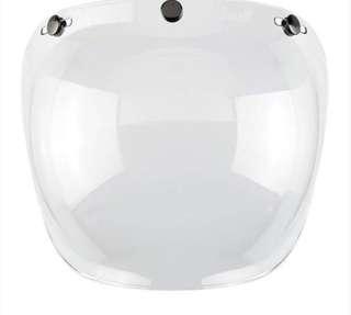 Bubble Visor Helmet Transparent