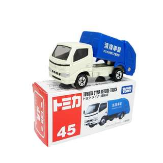 Takara Tomy Tomica No.045 Toyota Daina Garbage Truck (Box)