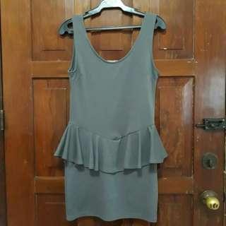 Cotton On Peplum Dress