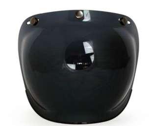 Bubble Visor Helmet Smoke