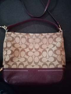 Repriced Pre loved Coach Authentic Bag