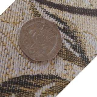 Old rare coin syiling queen elizabeth II 1983