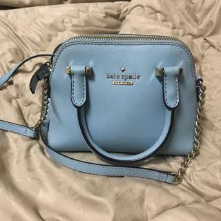 Preloved Kate Spade Mini Maise Baby Blue