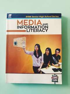 SHS book for sale - Media & Information Literacy