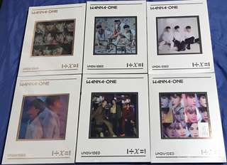 [Instock / For Collection] WANNA ONE - Special Album [1÷χ=1 (UNDIVIDED)]