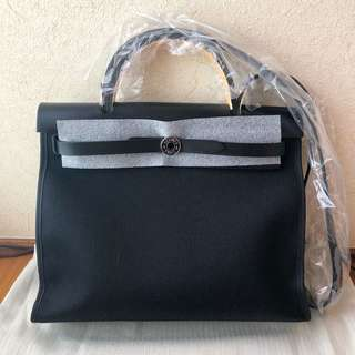 Hermes Herbag 31cm all black 全黑