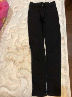 Bershka black skinny pants