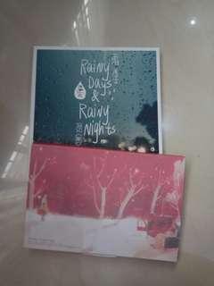postcard bergambar