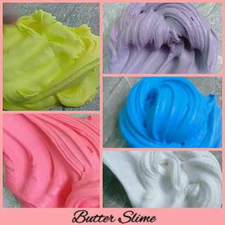 Butter Slime with FREE Borax available in 100ml. & 250ml.