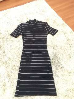 Stripes Bodycon Dress