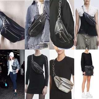 Alexander Wang Zipper Waist Bag Premium