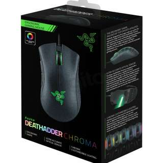 Sales!! ORIGINAL and NEW Razor Deathadder Chroma 10,000dpi