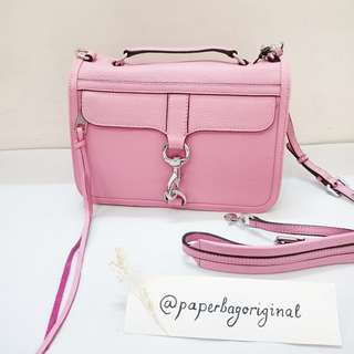NEW Rebecca Minkoff Authentic Satchel Bag Oink Pastel Branded