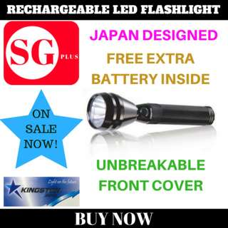 Kingston Rechargeable Torchlight KS-10