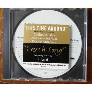 Michael Jackson This Time Around 11 Track Mega rare USA Promo CD single History