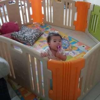 Haenim Baby Play Yard 6 Panels